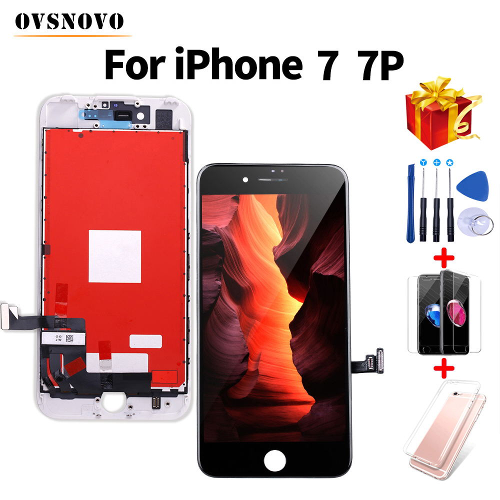 3D Touch LCD For iPhone 7 7 Plus Display Screen Replacement Digitizer Assembly For iPhone 8 8 Plus+Tools&Protective Glass&Case3D Touch LCD For iPhone 7 7 Plus Display Screen Replacement Digitizer Assembly For iPhone 8 8 Plus+Tools&Protective Glass&Case