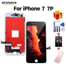 3D Touch LCD For iPhone 7 7 Plus Display Screen Replacement Digitizer Assembly For iPhone 8 8 Plus+Tools&Protective Glass&Case