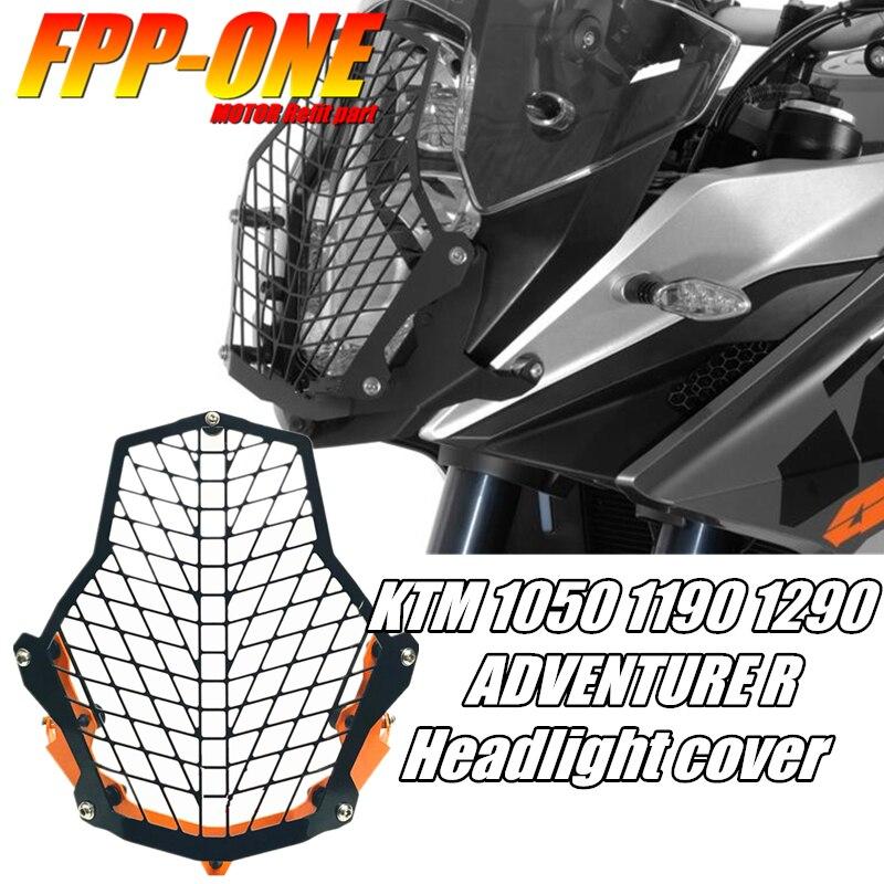 Pour KTM 1050 1090 1190 1290 Super ADVENTURE R L moto accessoires phare garde housse de protection CNC