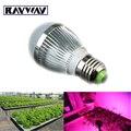 Wholesale 10pcs/lot Full spectrum LED Grow light 14W E27 LED Grow lamp plant Flower Hydroponics system AC 85V -265V grow lights