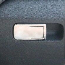 Автомобиль-Стайлинг перчатки из нержавеющей стали коробка крышка выключателя отделкой изменение декоративные наклейки чехол для Volkswagen VW Polo 2011- 2016