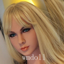 Top quality #74 TPE sex doll head for lifelike love doll heads for japanese silicone dolls sex toys for man