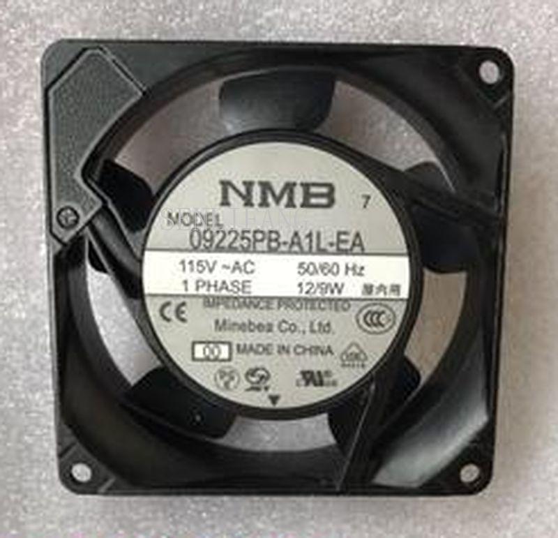 For NMB 9025 09225PB-A1L-EA 115V 50/60 12 / 9W Silent Aluminum Frame Fan