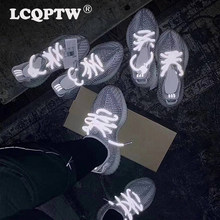 600fc8123 350 caliente vender reflectante estática corriendo limitada zapatos de  hombre blanco Beluga oeste estática botas de