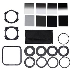 Universal DSLR Camera Neutral Density ND2 4 8 16 Lens Filter Kit for Cokin P Set SLR DSLR Camera Lens Camera Photo Accessories(China)
