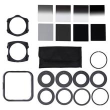 Universal dslr câmera densidade neutra nd2 4 8 16 lente filtro kit para cokin p conjunto slr dslr câmera lente da foto acessórios