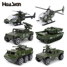 New arrival !!!6 Pieces Toy Vehicle 1:87 Fire Swat and Military Car Model Toys Boy Toys for Birthday Gifts