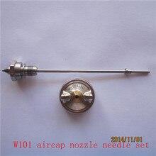 W101 распылитель наборы сопла иглы aircap набор W-101 распылитель сопла аксессуары компоненты 3 шт. в одном наборе
