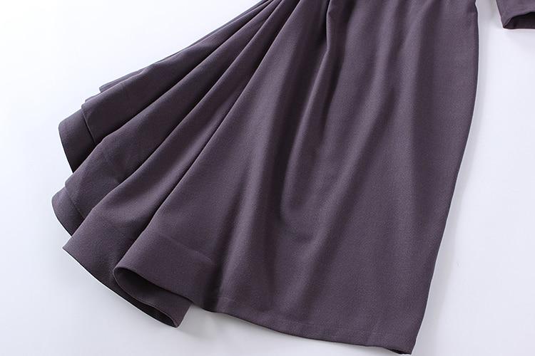 Purple Slash Cru Cou Bas Off Haut Palais Gamme Épaule Gray Robe Bretelles Invisible Élégant Le Irrégulière Couleur De 7OTq55