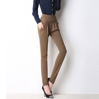 2016 Women S Summer Spring OL Trouser Fashion Full Length Pocket Plus Size 4XL Women Loose