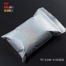 TCT-069 24 лучших 0,05 мм Размер голографический цвет маленький размер блестящий порошок для ногтей, Татто художественное украшение DIY Макияж краски