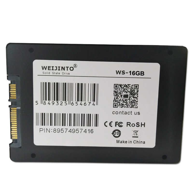 WEIJINTO SSD 32GB 60GB 16GB a 128GB 256GB 512GB 960GB 1TB 360GB SATA2 disco de unidad de estado sólido de 64GB HDD HD interno de 2,5 pulgadas