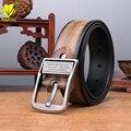 New Style Belts Men Luxury Designer Brand Cowskin Leather Belts Male Waist Strap cintos masculinos Cowboy Pin Buckle Belt TL008