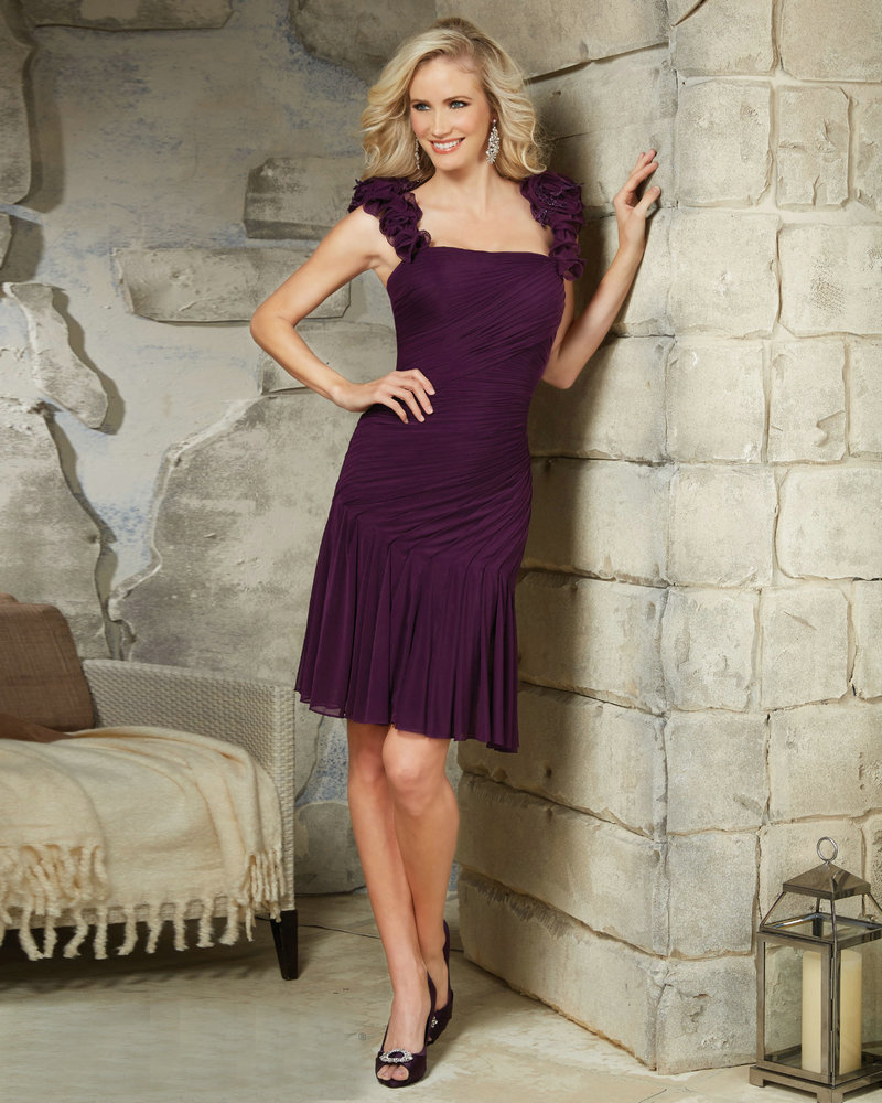 Aubergine Mother of the Bride Dresses