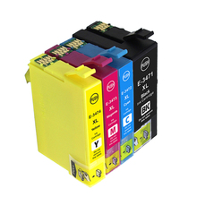 vilaxh T34 34 XL T3471 Ink Cartridge For Epson - T3474 WorkForce Pro WF-3720DWF 3725DWF Printer
