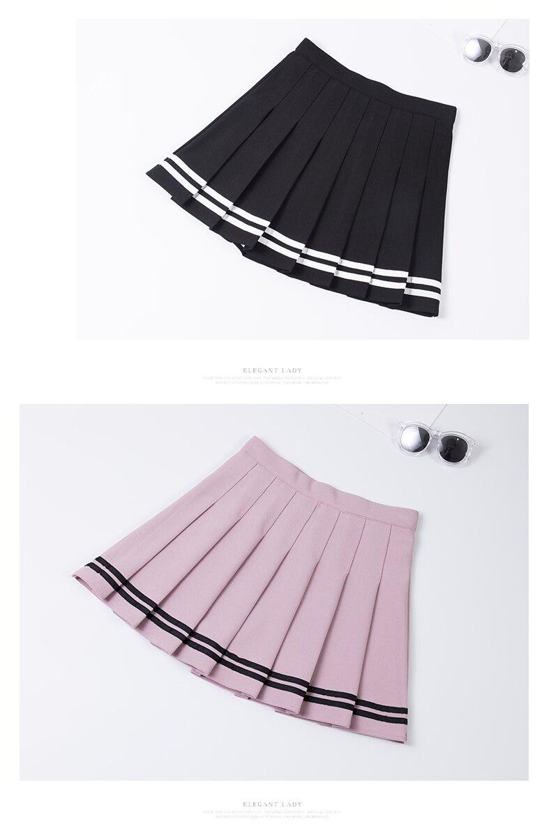 Falda de animadora estilo sailor en diferentes colores 10