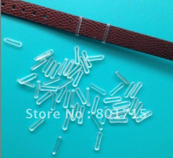 Cheap!!! 10mm Rubber Stopper 100Pcs Rubber Stopper Fit Slide Letter Charm Bracelet