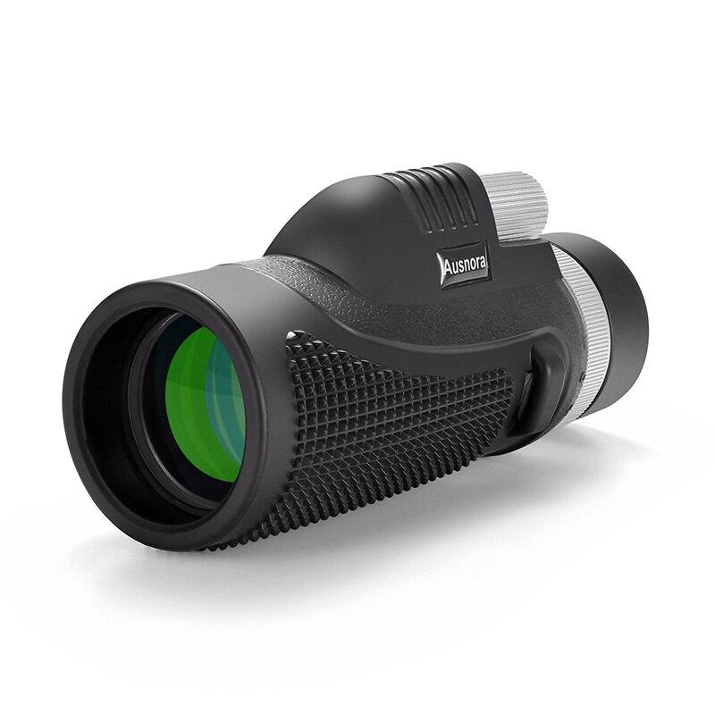 40x60 HD Tragbare High Power Teleskop Monokulare Wasserdichte Nachtsicht Ultra-große Okular Jagd Fernrohre für Smartphone