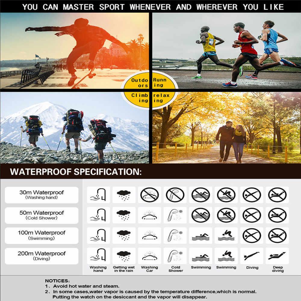 Mannen Analoge Digitale Militaire Leger Sport Led Waterdicht Horloge Luxe Heren Horloge Sport Elektronische Horloges Часы Мужские
