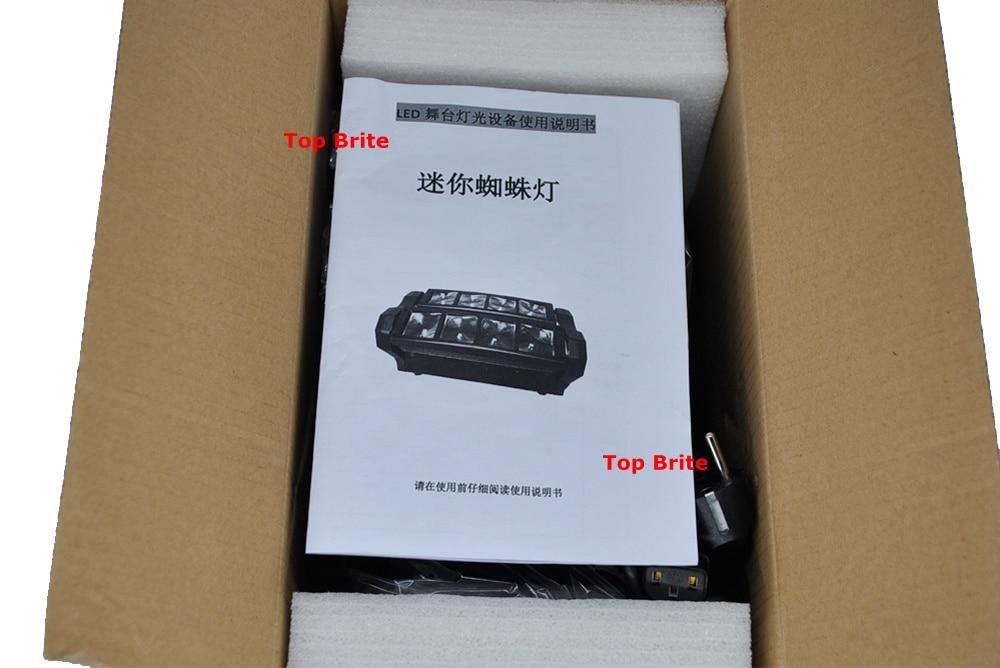2019 Անվճար առաքում Hot Sales Portable NEW Moving Head - Կոմերցիոն լուսավորություն - Լուսանկար 4