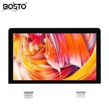 BOSTO X1 Tüm Bir Sanat El boyalı Grafik Tablet Monitör çizmek için Makine 21.5 inç Full HD IPS paneli ile Eldiven ve Standı