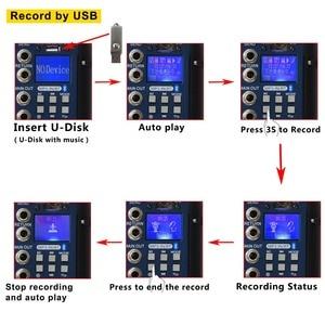 Image 3 - Freeboss SMR6 Bluetooth USB Record 2 Mono + 2 stereo 6 Channels 3 Band EQ 16 DSP Effect USB Professional Audio Mixer