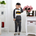 Male child autumn and winter set female child sweatshirt set autumn child cartoon style set