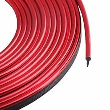 цена на Red Motors Moulding Strip Trim For Car Interior Exterior Decorative Line 5M