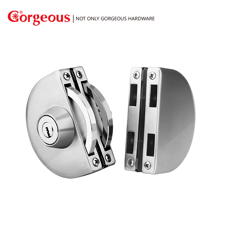 Aliexpress Gorgeous Stainless Stell 4 Color Glass Door Lock