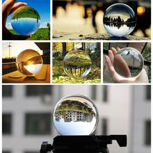 30/40/50/60/80mm Artificial Crystal Ball Healing Glass Ball Sphere Decoration Ornaments Gifts Chinese Feng Shui Decorating(China)