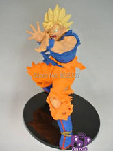 New Boxed Anime Cartoon PVC Dragon Ball Z Action figure Super Saiyan Son Goku Model Classic Toys For Children
