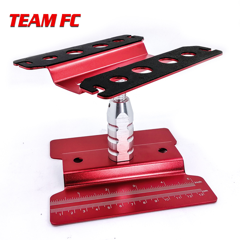 Heightening Work Stand Assembly Platform 360 Degree Rotate Repair Station For RC 1/8 1/10 TRX-4 Axial SCX10 Tamiya S149