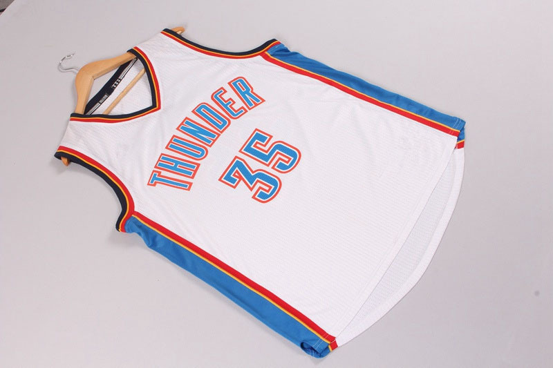 46fec530913a Cheap Mens Oaklahoma City Thunder Kevin Durant 35 Basketball Jerseys  Stitched Logo Embroidery Free Shipping-in Basketball Jerseys from Sports ...