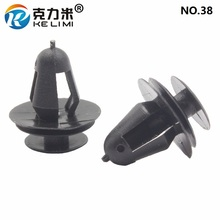 KE LI MI NO.38 Interior Door Trim Panel Garnish Retainer Clip Black Car Universal Auto parts