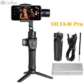 Cadiso Freevision Vilta m Pro 3-axis Handheld Gimbal Smartphone Video Stabilizer with Wireless Charging for iPhone Samsung Phone - DISCOUNT ITEM  36% OFF All Category