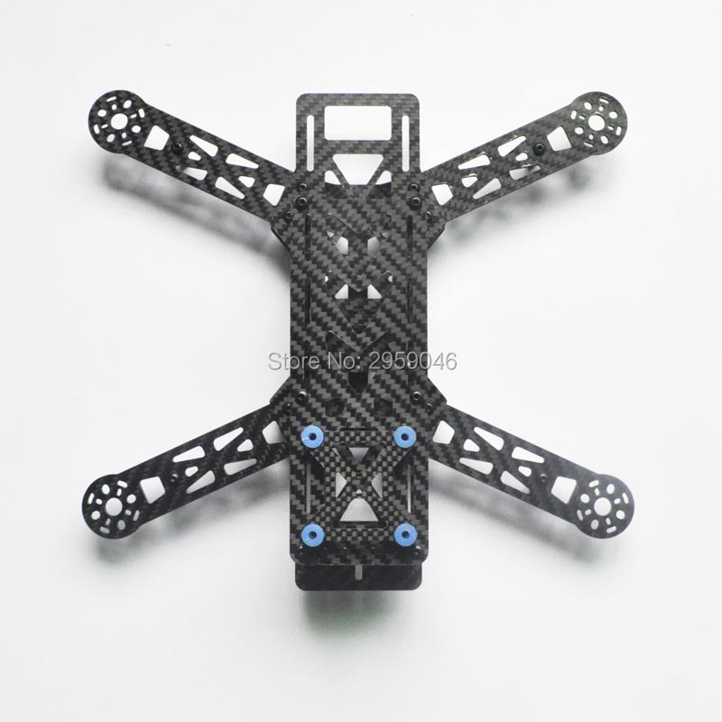 ZMR Quality QAV280 100% Pure Carbon Fiber FPV Mulit-rotors Quadcopter Frame Unassembled DIY Mini 280 frames for Drone UAV Quad carbon fiber frame diy rc plane mini drone fpv 220mm quadcopter for qav r 220 f3 6dof flight controller rs2205 2300kv motor