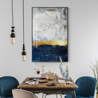Abstract Gold Foil B...