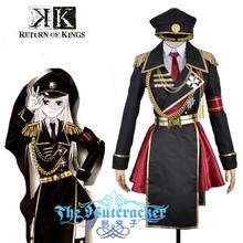 Anime K  Return Of Kings Anna Kushina Military Uniform Outfit Cosplay Costume Custom Made custom made anime phoenix wright ryuichi naruhodo dress fashion uniform cosply costume shirt coat pants