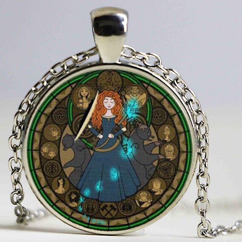 1 Units Lot Key Of Solomon Sigil Logo Round Pendant Necklace