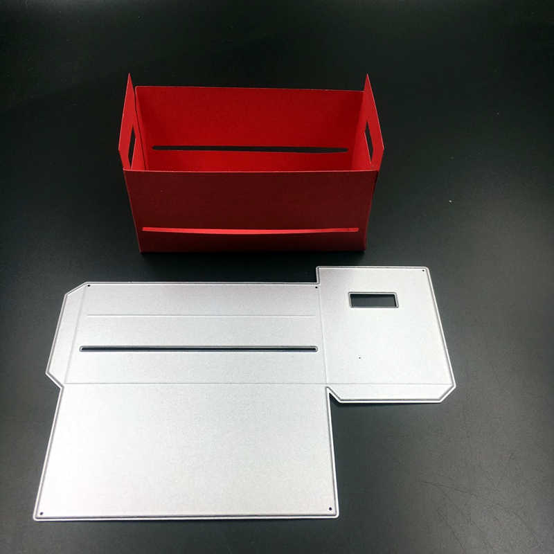 Metal Cutting Dies Rectangle Stamps Box Mould For Photo Albums Decorate Diy