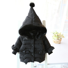 Coat Baby Girl  Infant Hoodie Thickness Autumn Winter Jacket