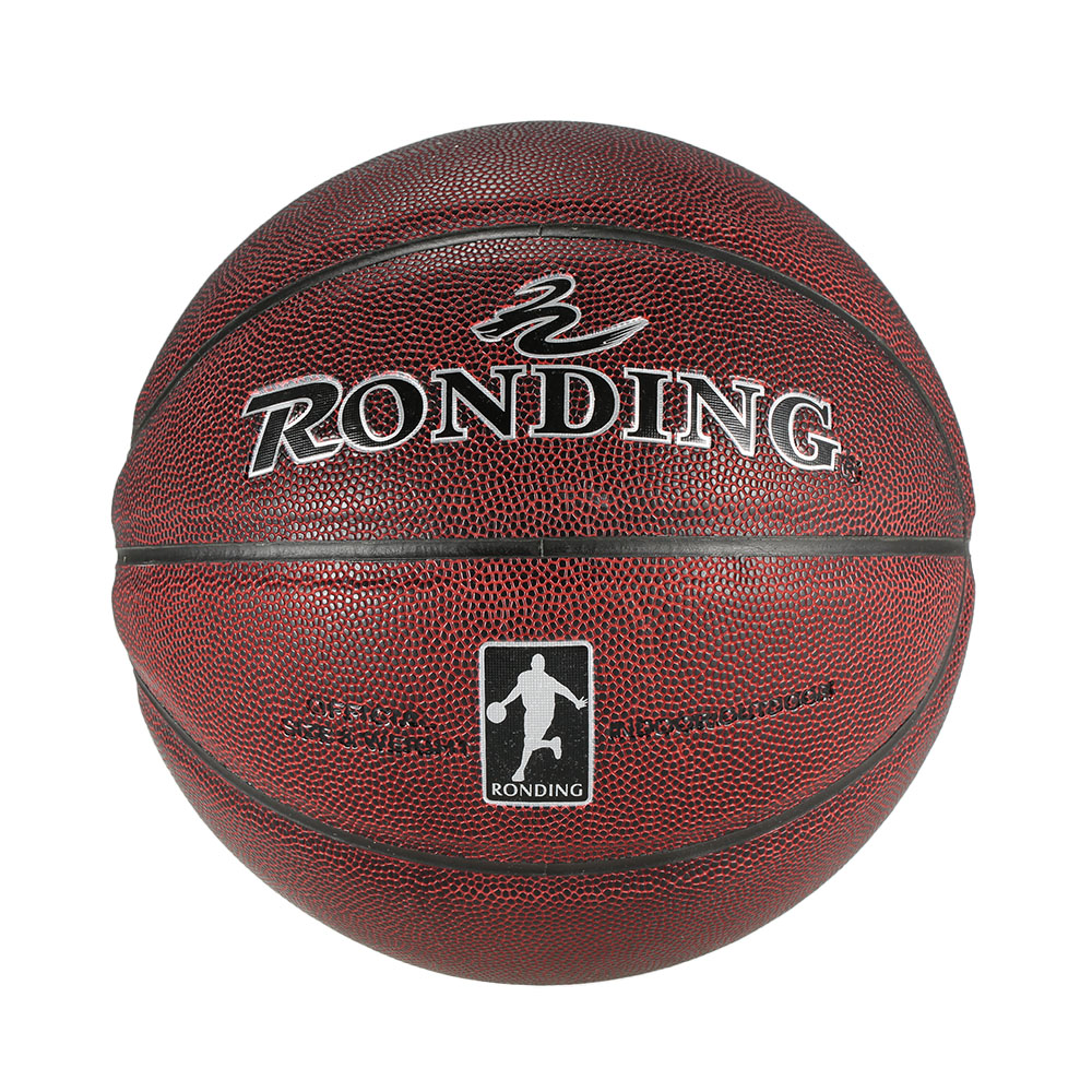 Indoor Outdoor Ball Game PU Leather Basketball Match Training Ball Equipment