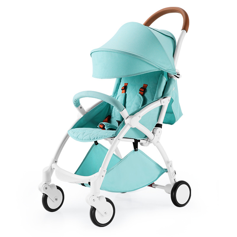 все цены на Can Sit Can Lie Portable Baby Stroller with Aluminum Alloy frame, can take on plane Lightweight Cart, EVA wheel Baby Carriage онлайн