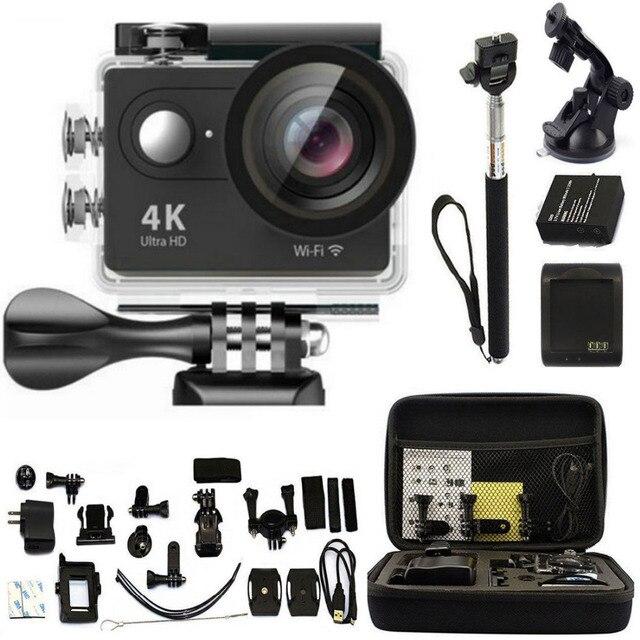 H9 H9R Action Camera Ultra HD 4 K WiFi 1080 P Esporte Go 2.0 LCD 170D lente ir à prova d' água pro câmera