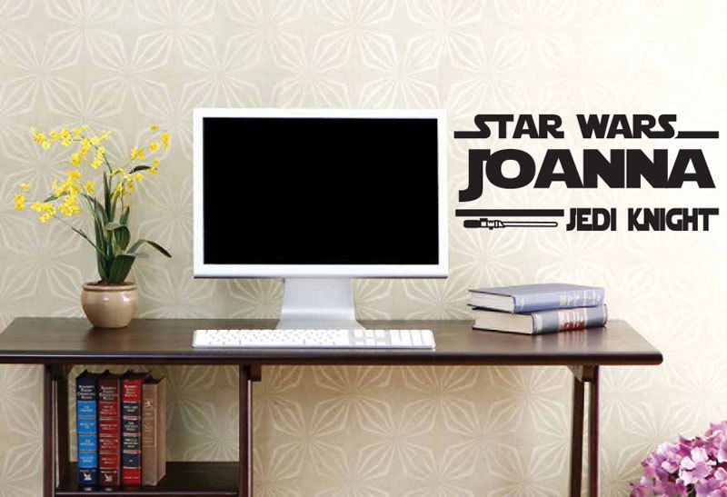 Aliexpress.com : Buy Star Wars Jedi Knight Personalized Wall Quotes Name Stickers  Wall Decals From Reliable Decal Wall Sticker Suppliers On Top Fashion Wall  ... Part 85