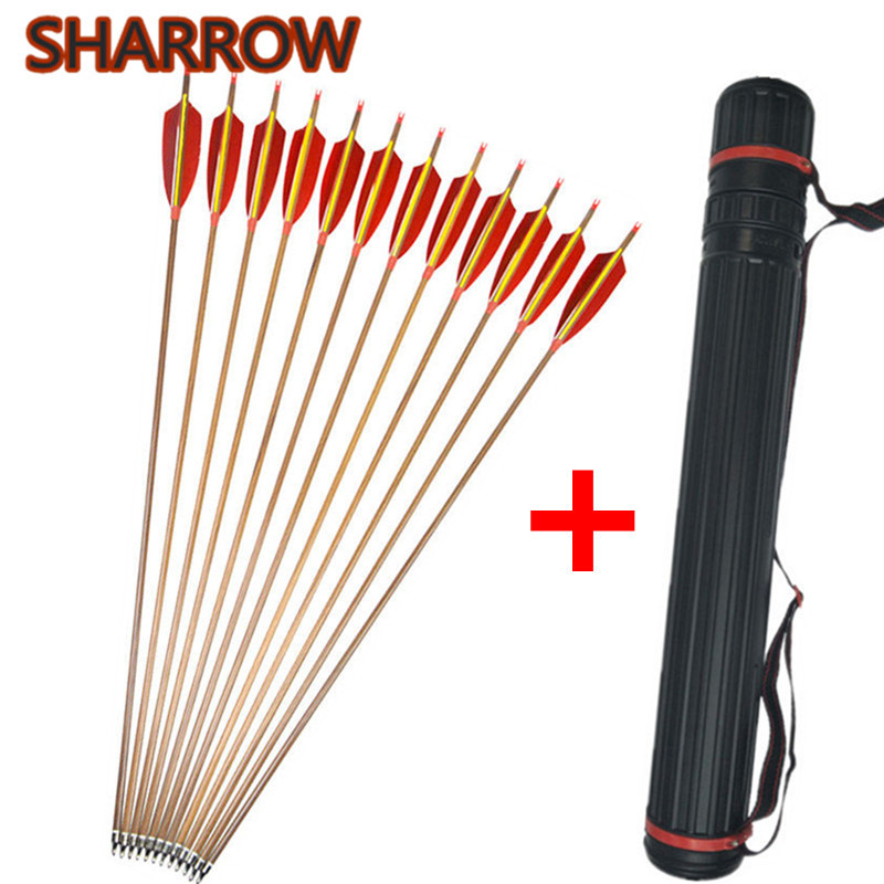 12Pcs 30 Archery Pure Carbon Arrows Spine 340 5 Feather Carbon Arrow With Arrow Quiver For Bow Shooting Training Accessories12Pcs 30 Archery Pure Carbon Arrows Spine 340 5 Feather Carbon Arrow With Arrow Quiver For Bow Shooting Training Accessories