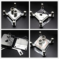 2016 System cooling all metal CPU water block cooling head 0.3 micro channel for INTEL AMD CPU platform