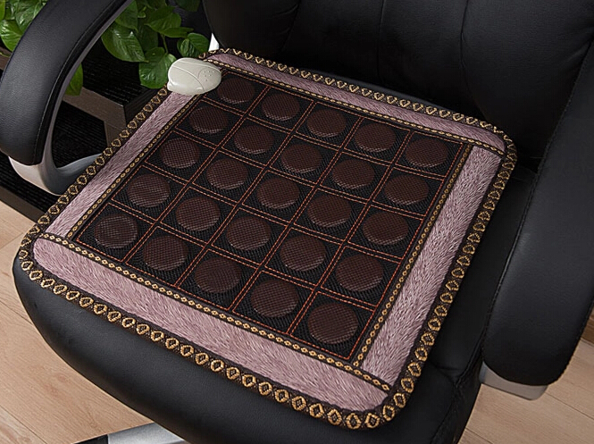 Best Selling! High-grade Natural Jade Seat Cushion Summer Cool Mat Made in China 1Pcs/Lot Free shipping 2016 new style popular best selling natural jade