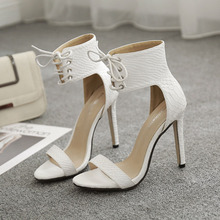 Elegant High-heeled Sandal Shoe