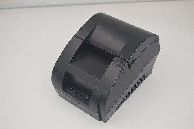 Оптовая 58 мм термальный Чековый pirnter POS принтер различные магазины, посвященный кассовый принтер скорость печати быстро ZJ-5890K